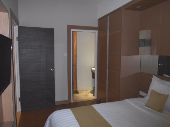 Aston Balikpapan Hotel U0026 Residence: The Bedroom With Private Bathroom