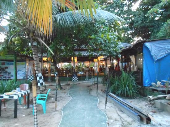 Kemala Beach: A balinese style cafe
