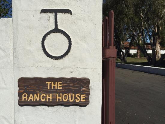 the sign on the gate at the ranch house picture of camp pendleton rh tripadvisor com