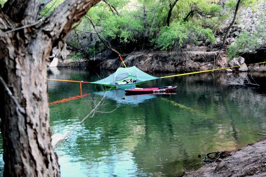 Outdoor Rush Tentsile Hammock Tent Over the Water & Tentsile Hammock Tent Over the Water - Picture of Outdoor Rush St ...
