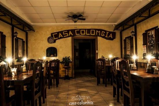 San Ramón, Costa Rica: Restaurante Casa Colombia
