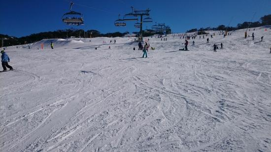 Perisher Valley, Australie : Amazing after only 1 day on skies