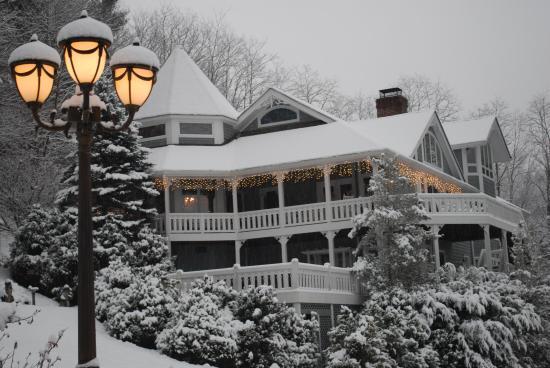 Glenville, Carolina del Norte: Beautiful snow