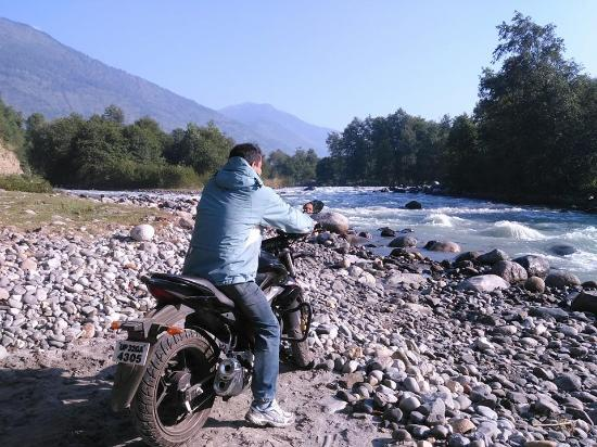 Adventures at Bank of Beas River