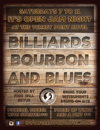 Turkey Point, Canadá: Weekly Open Jam Night!