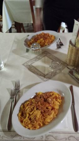 Verghereto, Italië: Le tagliatelle