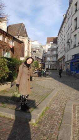 Parigi, Francia: Rue des Barres バール通り