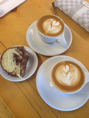 Black Velvet Coffee | Espresso Bar: Coffee and Cake - just what the doctor ordered :)