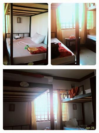 Tropical Breeze Guest House: Mixed dorm. The bed quite big. At the 4th floor.