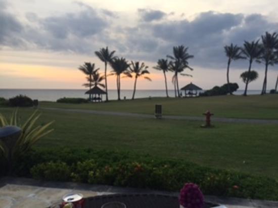 Pan Pacific Nirwana Bali Resort : view from club