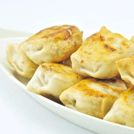The China Kitchen: Pork and Chives Pan-Fried Dumplings