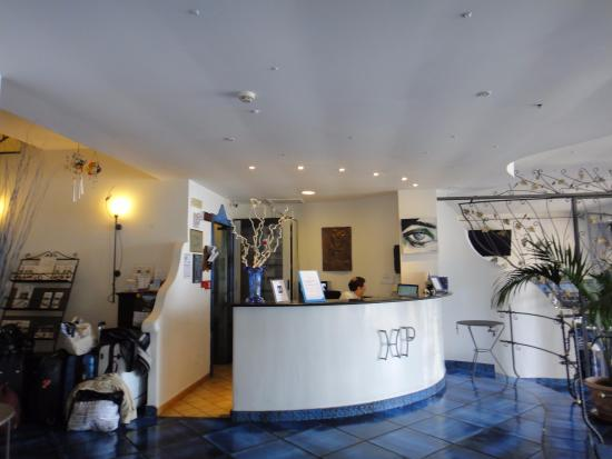 Positano Art Hotel Pasitea: recepcion