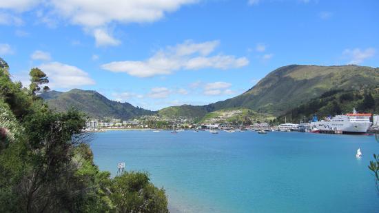 Picton, Nueva Zelanda: At the start of the Bob's Bay Track