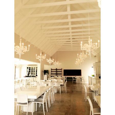 Stilbaai, Sør-Afrika: Inside the venue / pop-up restaurant