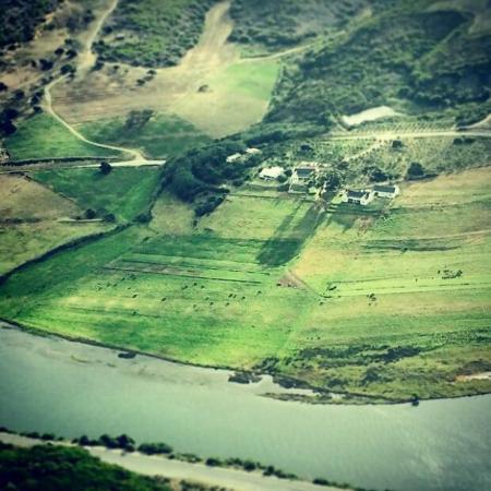 Stilbaai, Sør-Afrika: Kleinbergskloof homestead view from above