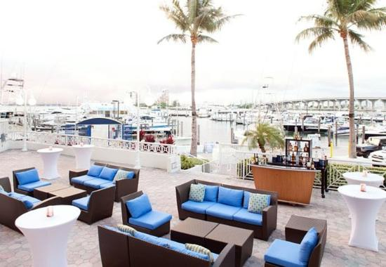 Miami Marriott Biscayne Bay: Marina Terrace Events