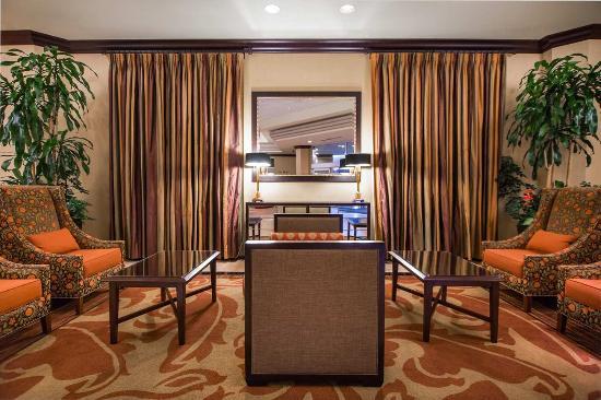 Modesto, Kalifornien: Hotel Lobby