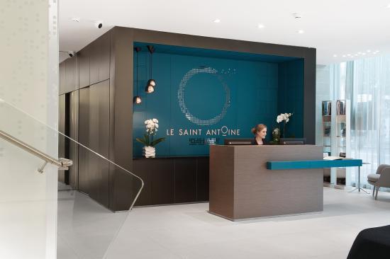 Lobby Hôtel & Spa Le Saint-Antoine - Picture of Le Saint-Antoine ...