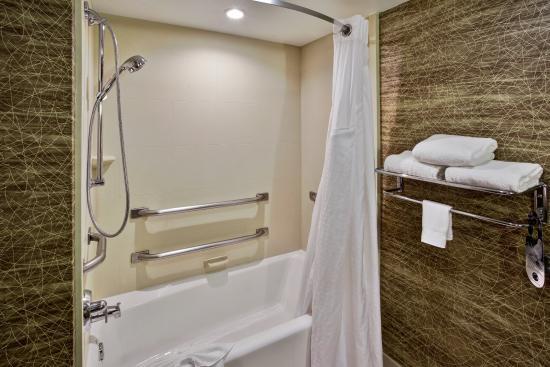 Elgin, IL: Wheelchair Accessible Bathroom with tub