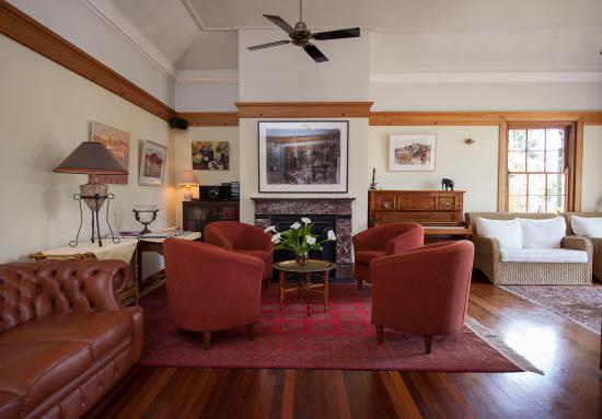 Wentworth Falls, Australia: Guest Lounge