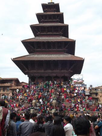 The atraction of Bhaktapur