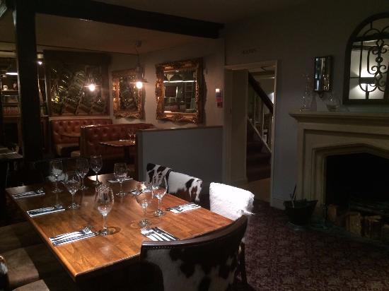 Nettlebed, UK: Main restaurant