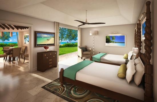Beaches Turks and Caicos Resort Villages and Spa: Caribbean Two Bedroom Luxury Butler Villa Suite