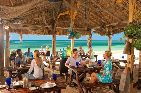 Sandals Montego Bay: Stewfish Restaurant