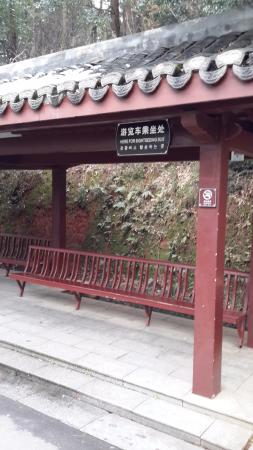 Liu Shaoqi Memorial Hall : bus stop
