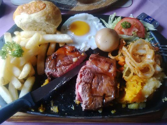 Sabie, Νότια Αφρική: Lovely steak