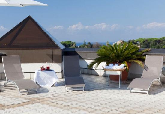 AC Hotel Genova by Marriott: Outdoor Terrace
