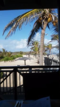 Nisbet Plantation Beach Club: View from the Breakfast room