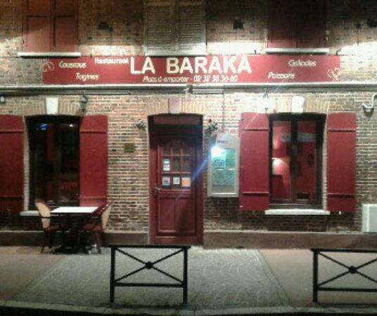 Evreux, Francia: Restaurant la Baraka