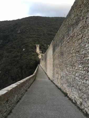 Spoleto, Italië: la passeggiata