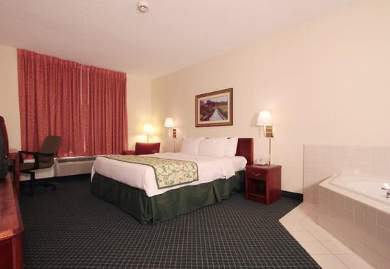 Jeffersonville, IN: King  Spa Guest Room