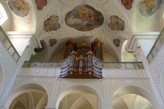 Münstertal, Deutschland: Orgelempore