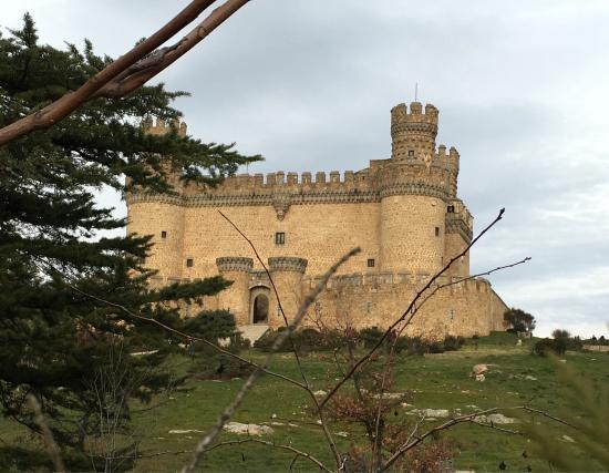 Manzanares el Real, Hiszpania: Vistas del castillo