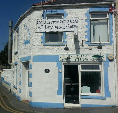 Burry Port, UK: Josephs Fish Bar and Cafe