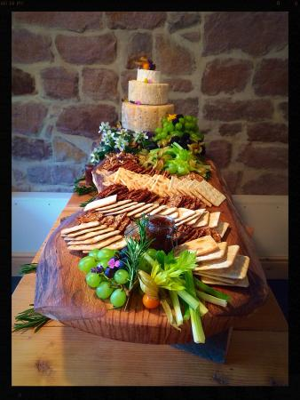 Engagement Party Cheese Board Picture of Huntley Green Cromford