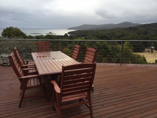 White Beach, Australia: Terrace with amazing view
