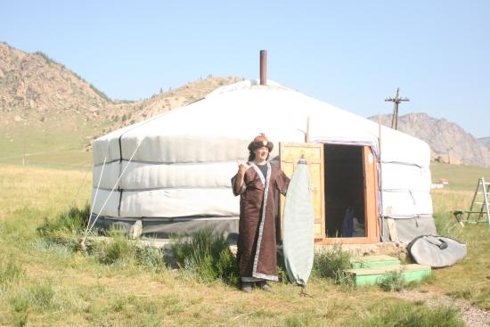 Trans-Siberian Railway - Day Trips Our beautiful yurt tent in Mongolia & Our beautiful yurt tent in Mongolia - Picture of Trans-Siberian ...