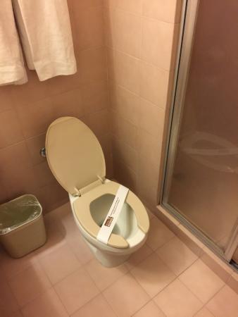 Hotel Metropol: Toilette