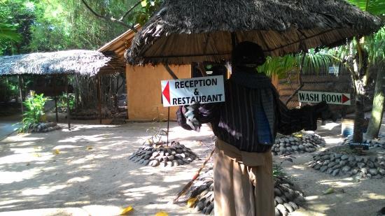 Saruketha: Restaurant atmosphere