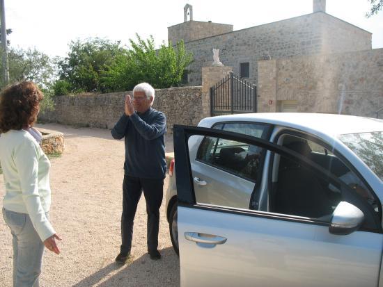 Toritto, Italië: Beppe Bigazzi in masseria