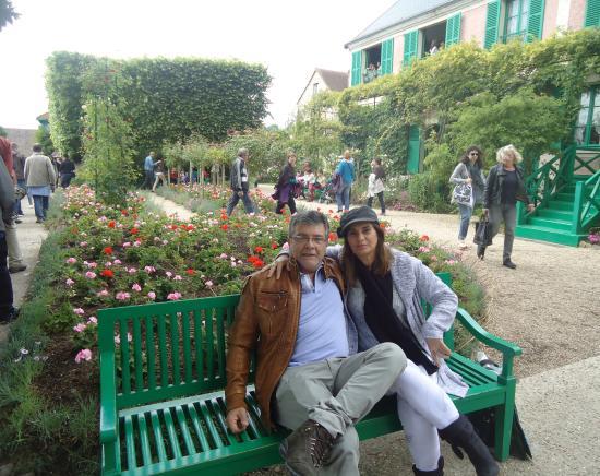 Claude Monet's House and Gardens: Um dia lindo no jardim da casa de Monet