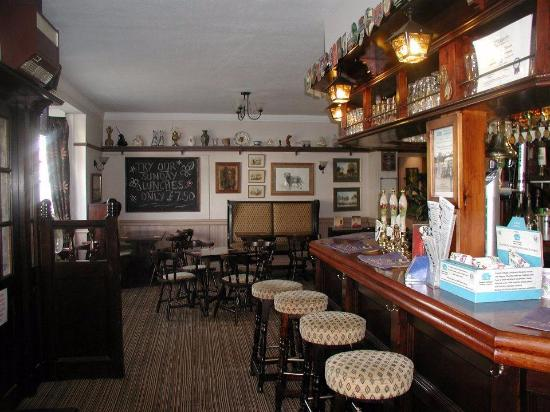 Ware, UK: Inside the Rose and Crown