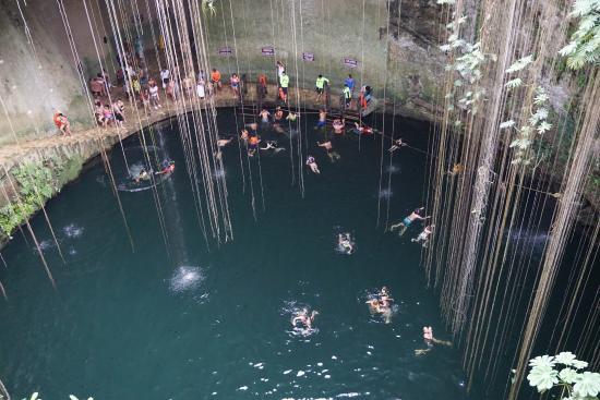 ยูกาตัง, เม็กซิโก: 1 Cenote Ikil