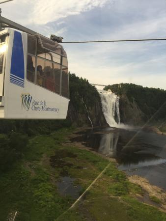 Montmorency Falls Park: One more from the air trolley