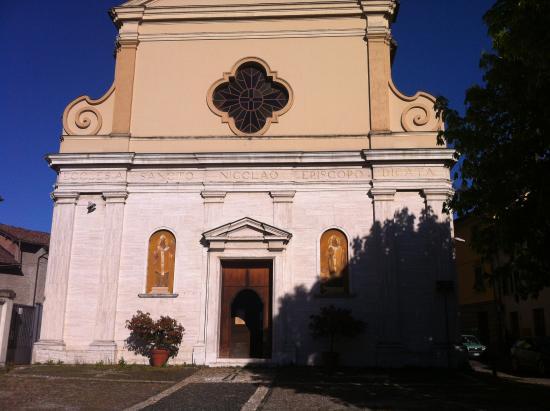 Pozzolo Formigaro, Italy: S. Nicolò church