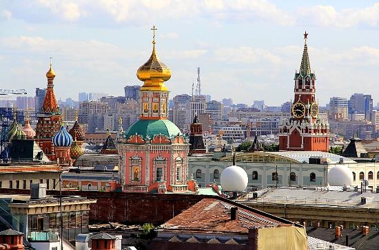 Viewpoint at the Rooftop of Central Children's World: панорамы